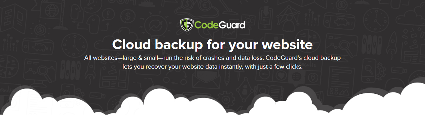CodeGuard Cloud Website Backup banner