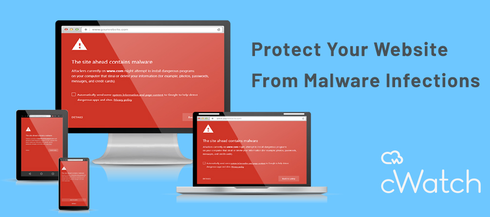 Comodo cWatch Banner - Protect Your Website From Malware