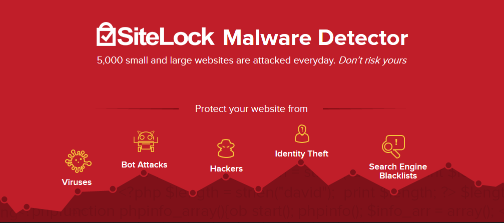 SiteLock Website Security banner